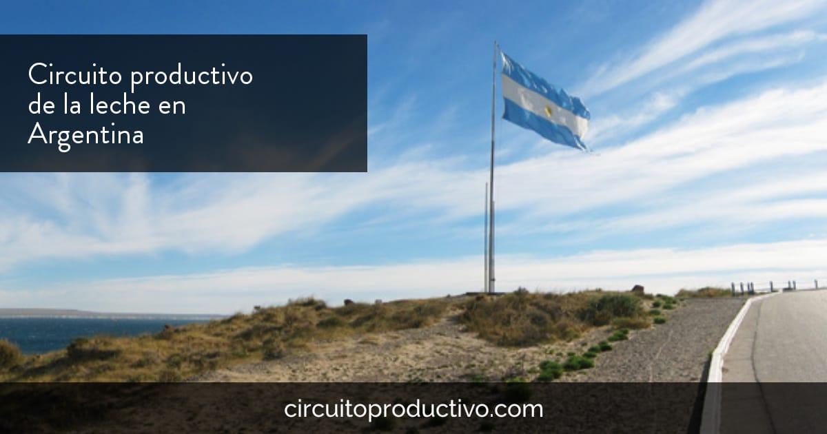 Circuito productivo de la leche en argentina