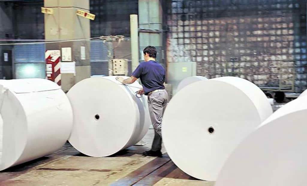 Distribucion del papel