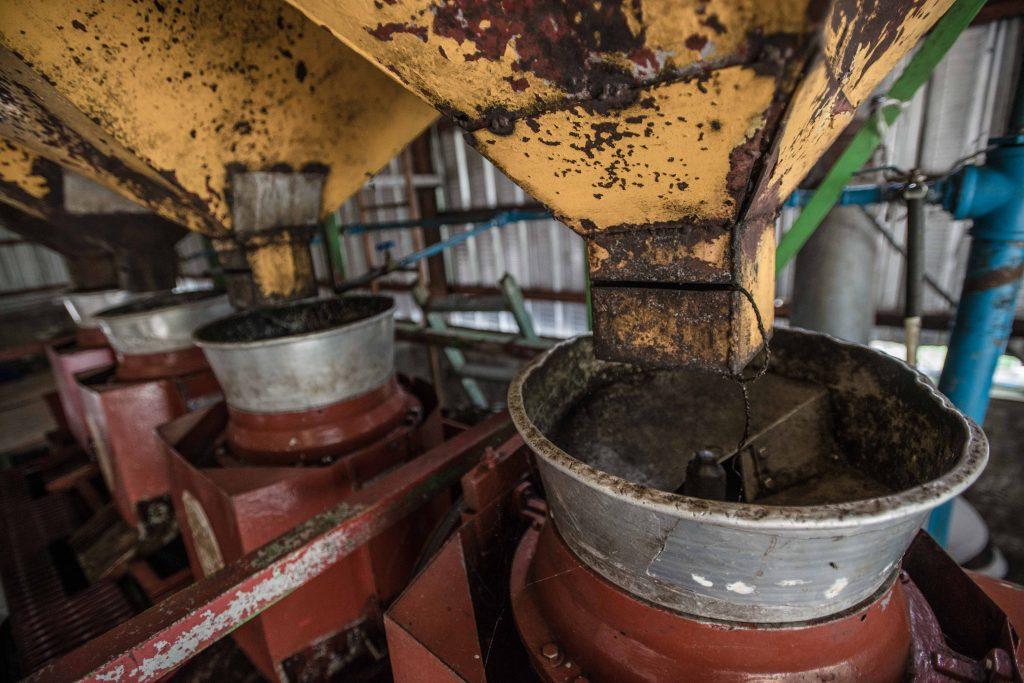elaboracion del cafe