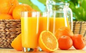 circuito productivo de la naranja y las naranjas
