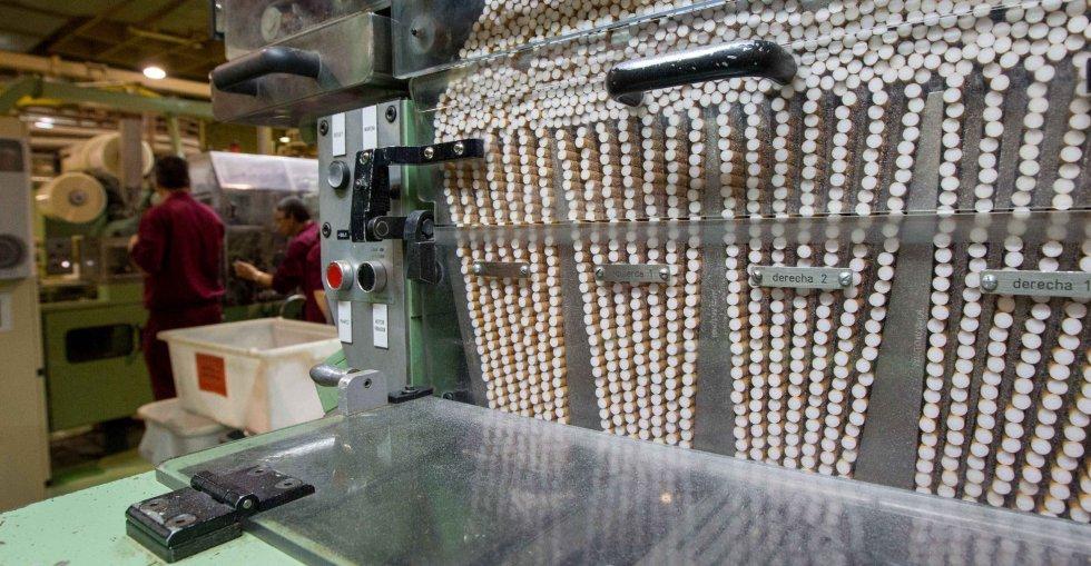 Fabrica de tabaco produccion